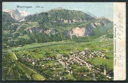 1905 Switzerland Meyringen Postcard. Hotel Krone Cachet. Meiringen - Coesfeld Germany - Storia Postale