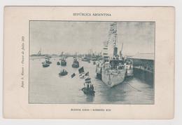 Buenos Aires (ARG), Darsena Sud , Edita Da S. Russo  - F.p - Primi Anni '1900 - Argentina