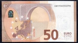 50 EURO FRANCE  EB E010 D2 - DRAGHI   UNC - EURO