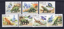 Dinosaurs Prehisrtorics Nature On Postage Stamps  Perf. Stamps & MNH** A201 - Stamps