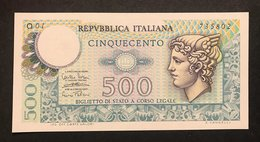 500 LIRE MERCURIO 14 02 1974 FDS  LOTTO 2654 - 500 Lire