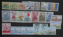 BELGIE  1959-60   Nr. 1114-20 / 1121 / 1122-24/ 1125-27 / 1131 - 32 / 1133-38  Postfris **    CW  40,50 - Belgien