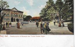 AK 0280  Innsbruck - Berg Isel / Restauration Und Museum Der Tiroler Kaiser Jäger Ca. Um 1910 - Innsbruck