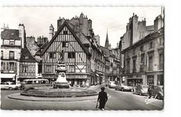 21 Dijon Place François Rude Fontaine Bareuzai Vieille Voiture Auto Citroen DS Combi CPSM PF Edit Estel 697 Photo - Dijon