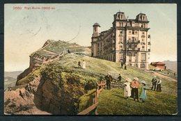1911 Switzerland Rigi - Kulm Postcard. Hotel Cachet. Rigi - Staffel - Suisse