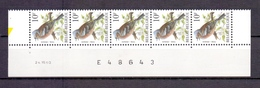 2351 VINK  DATUMSTRIP 24VII90 POSTFRIS** A368 - 1985-.. Oiseaux (Buzin)