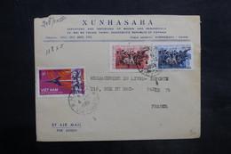 VIÊT NAM - Enveloppe Commerciale De Hanoi Pour La France En 1965 , Affranchissement Plaisant - L 35038 - Vietnam