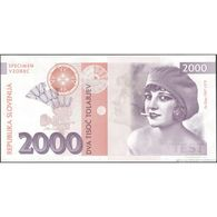 TWN - SLOVENIA (private Issue) - 2000 2.000 Tolarjev 2016 Low Serial 000XXX - Ita Rina UNC - Banknotes