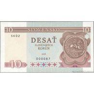 TWN - SLOVENSKO (private Issue) - 10 Slovenských Korún 2016 Very Low Serial 0000XX UNC - Banknotes