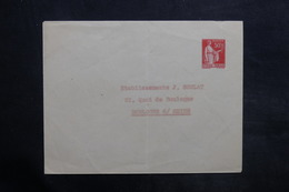 FRANCE - Entier Postal Type Paix ,non Circulé , Adresse écrite - L 35041 - Postal Stamped Stationery