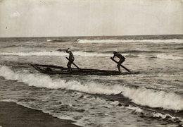 INDE INDIA Chennai MADRAS FISHERMAN +- 16* 12CMFonds Victor FORBIN (1864-1947) - Lugares