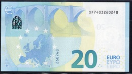 "EURO 20  ITALIA SF S018  ""40""  DRAGHI  UNC - EURO"