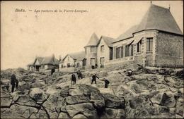 Cp Batz Loire Atlantique, Vue Des Rochers De La Pierre Longue - Francia