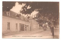 Avoine   - La Route De Chinon A Bourgueil - CPA° - Autres Communes