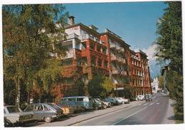 Bled: AUDI 60, RENAULT 16, BMW 02, LADA 1500, VW T1-BUS, RENAULT 4 - Grand Hotel 'Toplice' - (YU.) - Toerisme