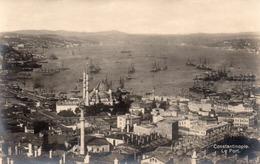 FOTOCARTOLINA-CONSTANTINOPOLE-LE PORT-NON  VIAGGIATA - Turchia