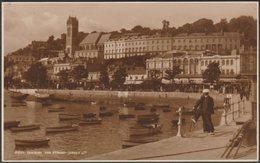 The Strand, Torquay, Devon, C.1925 - Judges RP Postcard - Torquay