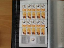 F2996/3000** Belgica 2001 - 500 Jaar Europese Post. - Feuillets