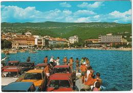 Crikvenica: OPEL KADETT B, BMW 02, FORD TAUNUS TC1, AUDI 80, MERCEDES 180 - FERRYBOAT - (YU.) - Toerisme