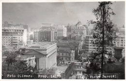 SANTIAGO -CILE-VISTA PARCIAL VIAGGIATA 1953-REAL PHOTO - Cile