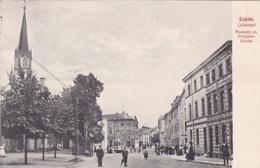 Alte Ansichtskarte Aus Eupen -Haasstrasse Mit Josephs-Kirche- - Eupen Und Malmedy