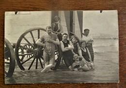 Antieke Foto--kaart Door Photo--Atelier KRAMEYER  OSTENDE - Photos