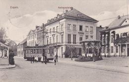 Alte Ansichtskarte Aus Eupen -Rathausplatz- - Eupen Und Malmedy