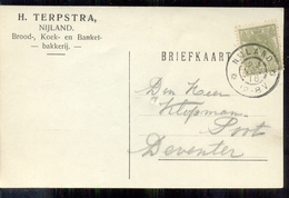 Nijland - H Terpstra - Brood Banket Bakkerij - 1916 - 1891-1948 (Wilhelmine)