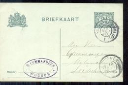 Wognum - D Commandeur - 1910 - Entiers Postaux