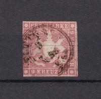 Wuerttemberg - 1857 - Michel Nr. 9 - 90 Euro - Wurttemberg