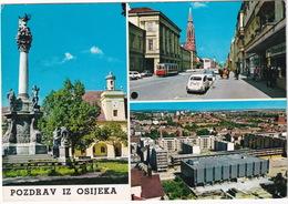 Osijeka: TRAM, ZASTAVA 600, FORD TAUNUS 15M P6 - (YU.) - Toerisme
