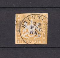 Wuerttemberg - 1859 - Michel Nr. 12 - Wuerttemberg