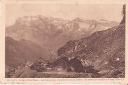 CPA - 19. Chemin De Fer DU MONT BLANC ..........à La Sortie Du Tunnel - Chamonix-Mont-Blanc