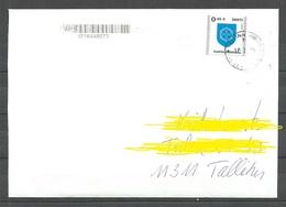 ESTLAND ESTONIA 2019 O Domestic Letter Inlandbrief Narva-Jõesuu Coat Of Arms Wappe - Estland