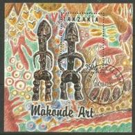 Tanzania - 1992 Makonde Art S/sheet  CTO    SG MS1492  Sc 985H - Tanzania (1964-...)
