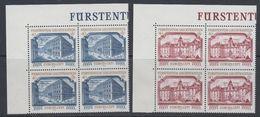 Europa Cept 1978 Liechtenstein 2v Bl Of 4 (corners)  ** Mnh (43526) - Europa-CEPT
