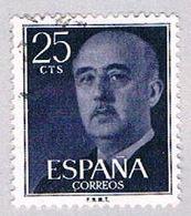 Spain 818 Used General Franco 1954 (BP24110) - Spain