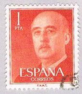 Spain 825 Used General Franco 1954 (BP24114) - Spain