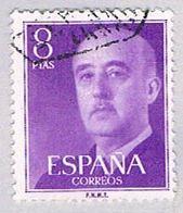 Spain 834 Used General Franco 1954 (BP24120) - Spain