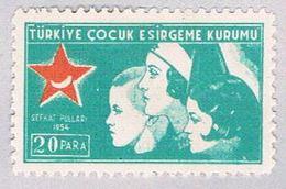 Turkey RA161 MLH Nurse And Children 1954 (BP27119) - Unclassified