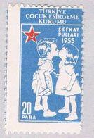 Turkey RA170 MLH Kissing Children 1955 (BP27012) - Turkey