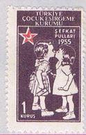 Turkey RA172 MLH Kissing Children 1955 (BP27014) - Unclassified