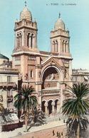 TUNIS-LA CATHEDRALE-NON  VIAGGIATA - Tunisia