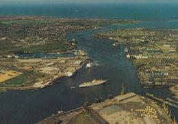 Port Of Tyne Facilities Northumberland Aerial Postcard - Other