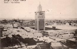 TUNIS-VUE GENERALE-  VIAGGIATA-1903 - Tunisia