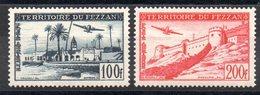 FEZZAN - YT PA N° 6-7 - Neufs ** - MNH - Cote: 27,60 € - Fezzan (1943-1951)