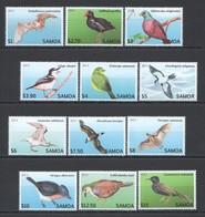 WW266 2013 SAMOA FAUNA BIRDS !!! #1105-16 MICHEL 47 EURO 1SET MNH - Oiseaux
