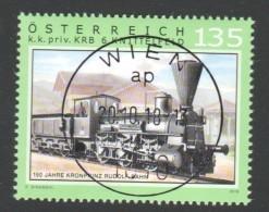 """Österreich 2018: """" 150 Jahre Kronprinz Rudolfbahn"""" Gestempelt - 2011-... Ungebraucht"""