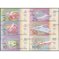 TWN - VENDA (private Issue) - 2-100 Rand 2013 Set Of 6 UNC - Non Classificati
