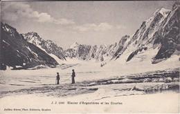 74-----Glacier D'ARGENTIERES Et Les Courtes--( Argentière )--voir 2 Scans - Chamonix-Mont-Blanc